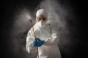 Desinfección Amonio Cuaternario
